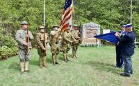 Croix de Guerre Ceremony Reenactment