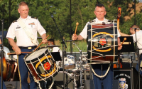 215th Army Band Tours Massachusetts